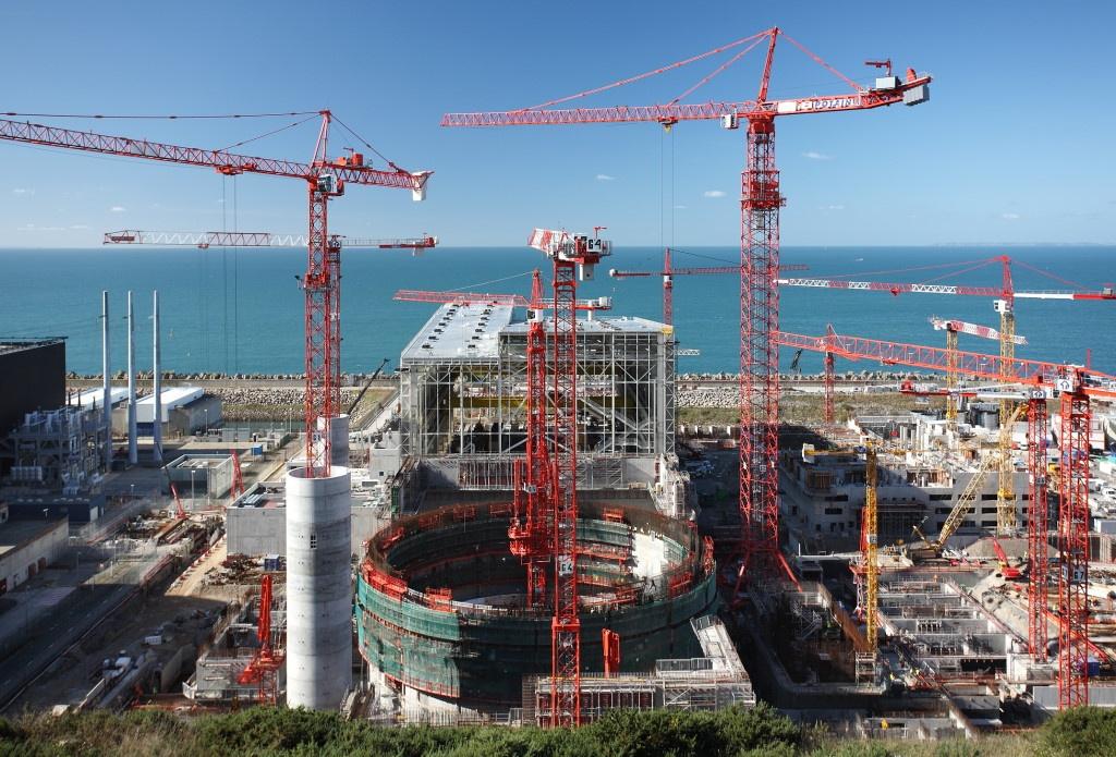 Suivi du chantier EPR Flamanville 3 en Octobre 2009